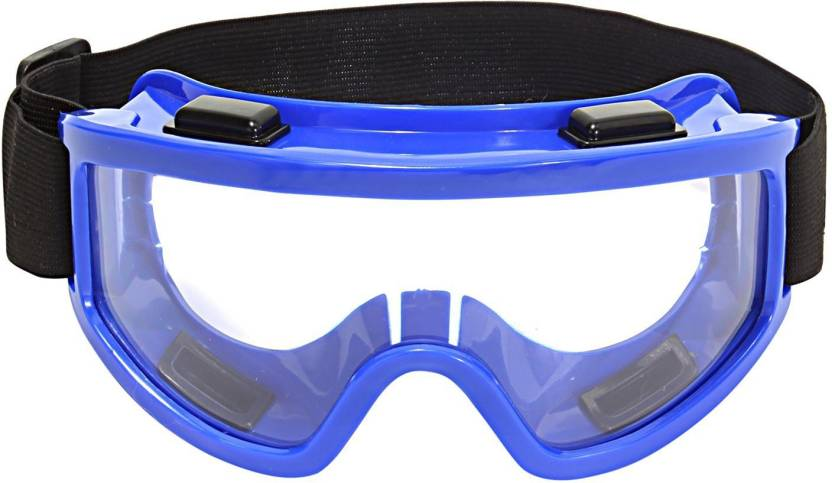 6fb83ced32c Shrih Adjustable Strap With Racing Transparent Motorcycle Goggles (Blue)