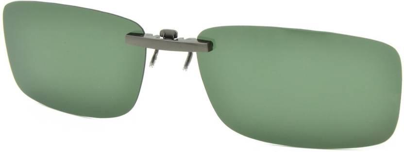 6b1b8b0882f Enem Day Vision Polarized Green Aviator Clip-on Metal Clip Flip-up Driving  Motorcycle