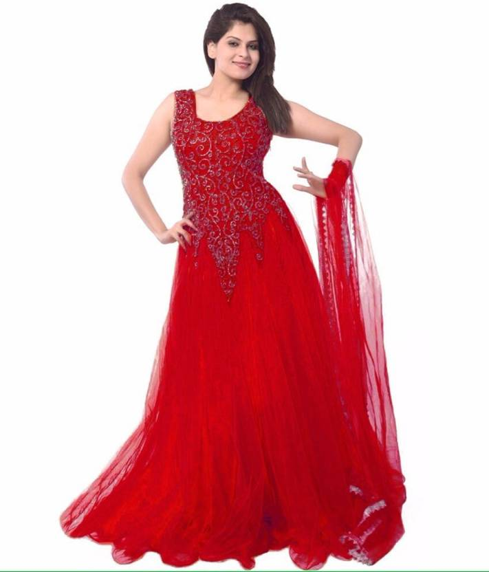 CHUNARLIFESTYLE Anarkali Gown Price in India - Buy CHUNARLIFESTYLE ...