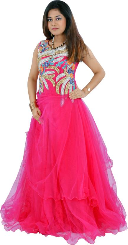 Aggarwal Traders Evening Gown Price in India - Buy Aggarwal Traders ...