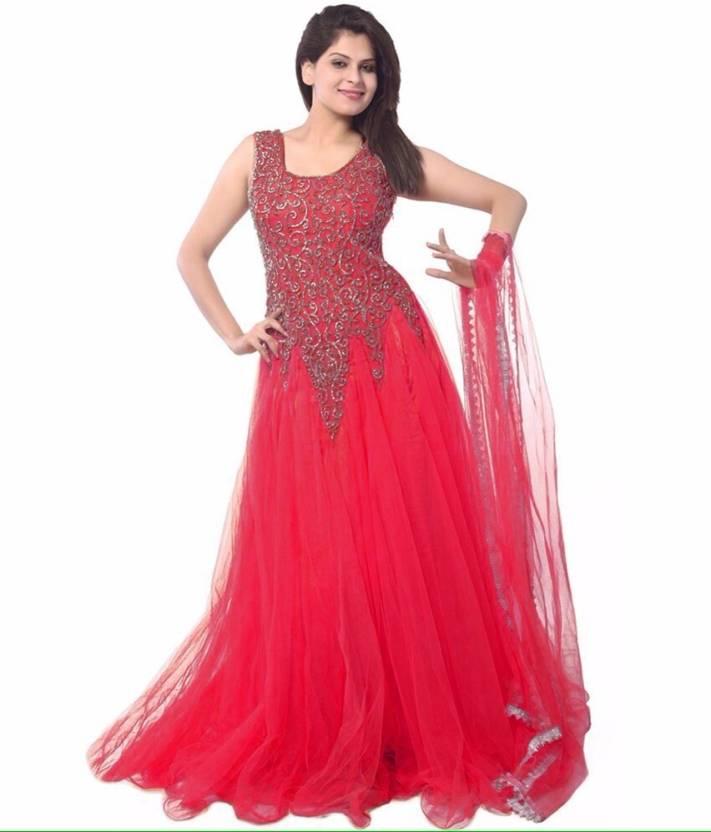 Trusha Dresses Anarkali Gown Price in India - Buy Trusha Dresses ...