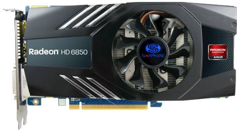Sapphire AMD/ATI Radeon HD 6850 2 GB GDDR5 Graphics Card