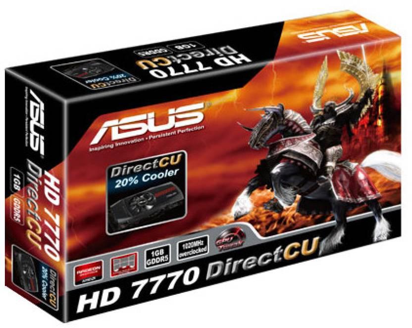 Asus AMD/ATI HD 7770 Direct CU 1 GB GDDR5 Graphics Card