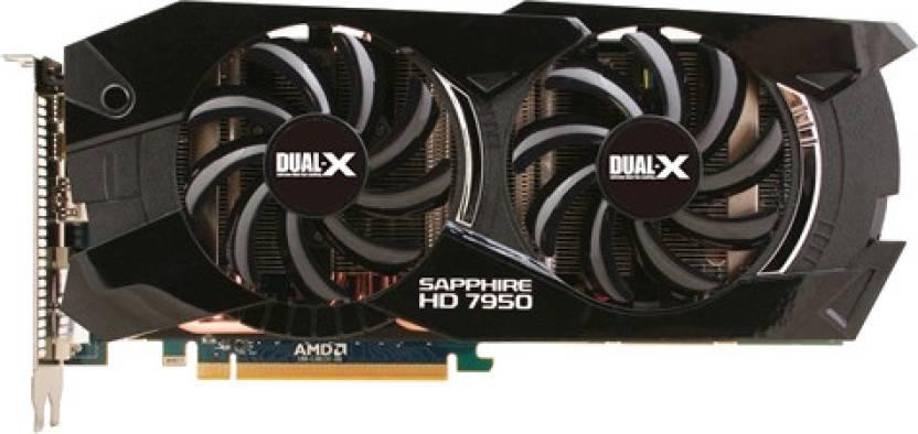 Sapphire AMD/ATI HD 7950 3GB GDDR5 With Boost 3 GB GDDR5 Graphics Card