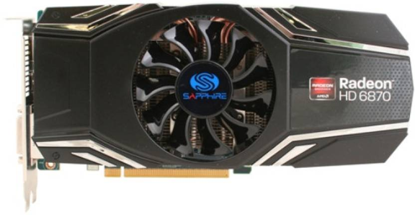 Sapphire AMD/ATI Radeon HD 6870 1 GB GDDR5 Graphics Card
