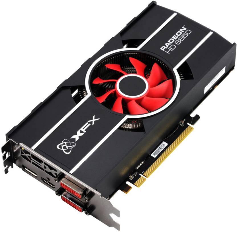 XFX AMD/ATI Radeon HD 6850 1 GB DDR5 Graphics Card