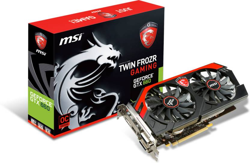 MSI NVIDIA N660 Gaming 2GD5/OC (GeForce GTX 660 Gaming) 2 GB GDDR5 Graphics Card