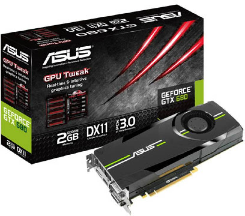 Asus NVIDIA GTX 680 2 GB GDDR5 Graphics Card