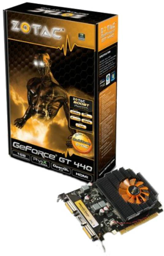 Zotac NVIDIA Geforce GT440 1 GB DDR3 Graphics Card