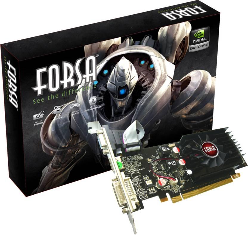 Forsa NVIDIA GeForce GF210 1 GB DDR3 Graphics Card