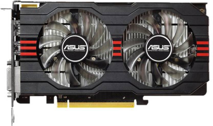 Asus AMD/ATI Radeon R7 250X 2 GB GDDR5 Graphics Card - Asus