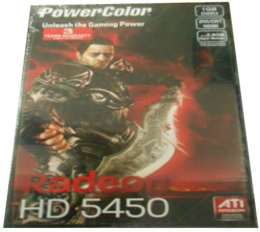 PowerColor AMD/ATI Radeon HD5450 1 GB DDR3 Graphics Card