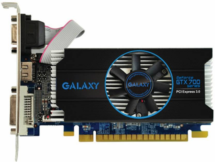 Galaxy NVIDIA GTX 750Ti 2GB OC 2 GB GDDR5 Graphics Card