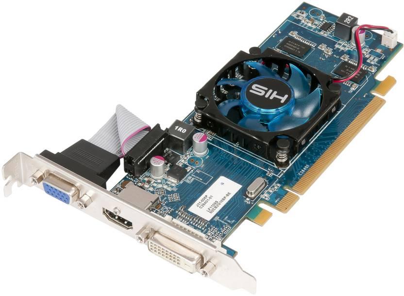 HIS AMD/ATI Radeon HD 6450 GPU 1 GB DDR3 Graphics Card