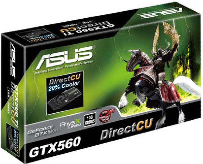 Asus NVIDIA GeForce GTX 560 1 GB GDDR5 Graphics Card