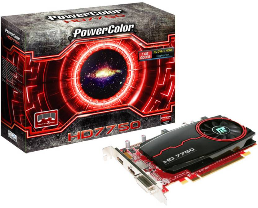 PowerColor AMD/ATI HD 7750 1 GB GDDR5 Graphics Card