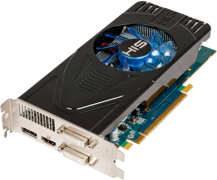HIS AMD/ATI Radeon HD 6770 GPU 1 GB GDDR5 Graphics Card