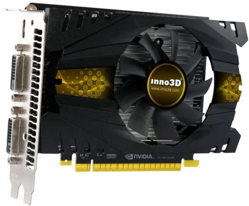 Inno3D NVIDIA GeForce GT 740 2 GB DDR5 Graphics Card