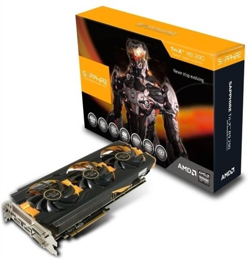 Sapphire AMD/ATI Radeon R9 290X TRI-X OC 4 GB DDR5 Graphics Card