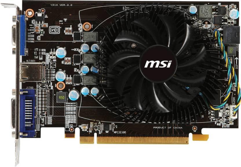 MSI AMD/ATI R6770-MD1GD5 1 GB GDDR5 Graphics Card