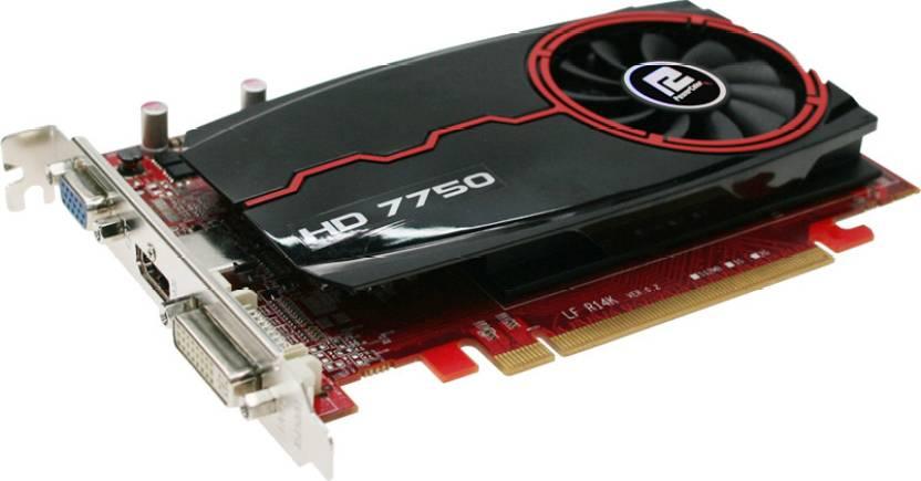 Pubg Radeon Hd 7750: PowerColor AMD/ATI Radeon HD 7750 4 GB DDR3 Graphics Card