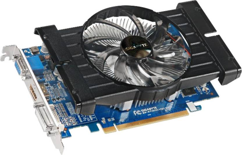 Gigabyte AMD/ATI GV-R775OC-1GI 1 GB GDDR5 Graphics Card