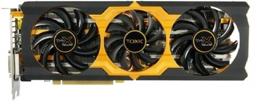 Sapphire AMD/ATI Radeon R9 270X Toxic Boost 2 GB DDR5 Graphics Card