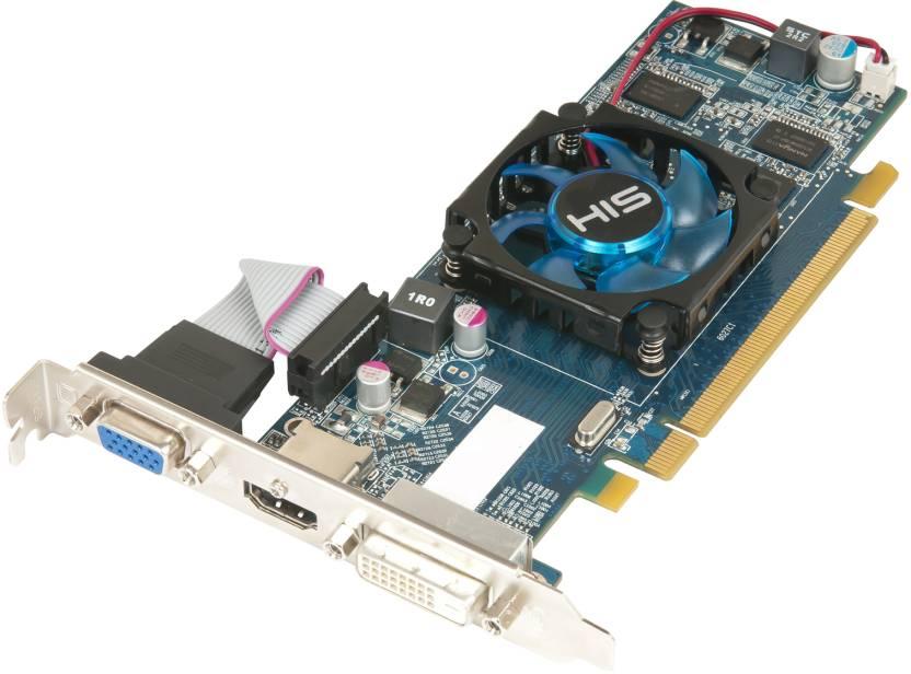 HIS AMD/ATI Radeon HD 6450 2 GB DDR3 Graphics Card