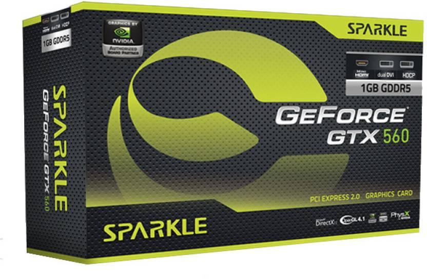 Sparkle NVIDIA GeForce GTX 560 1 GB GDDR5 Graphics Card