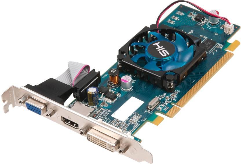 HIS AMD/ATI Radeon HD 5450 1 GB DDR3 Graphics Card - HIS ...
