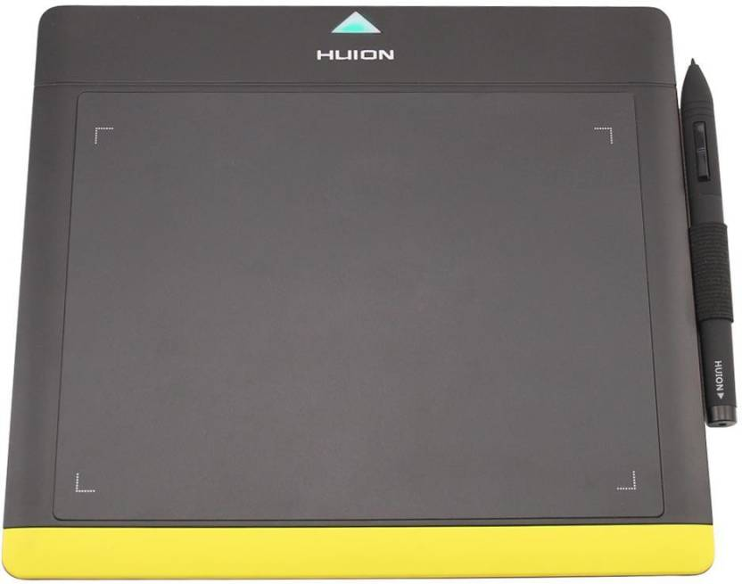 Huion 680TF-Black Yellow HUION-03 9 84 x 8 85 inch Graphics Tablet