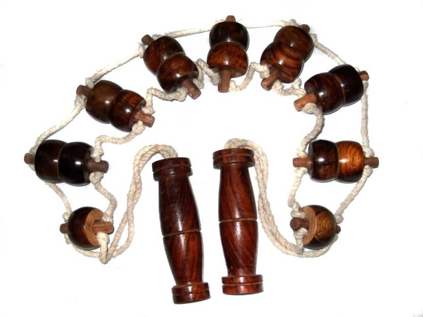 Crafts Paradise Wood String Attached Roller Back Massager