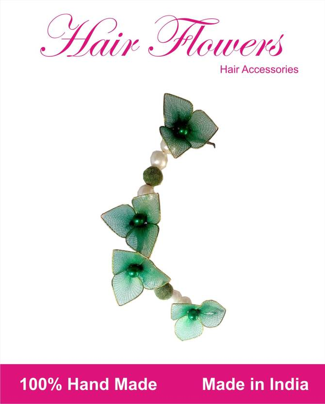 cf86082a78d ODDEVEN Green brooch Hair Accessory Set Price in India - Buy ODDEVEN ...