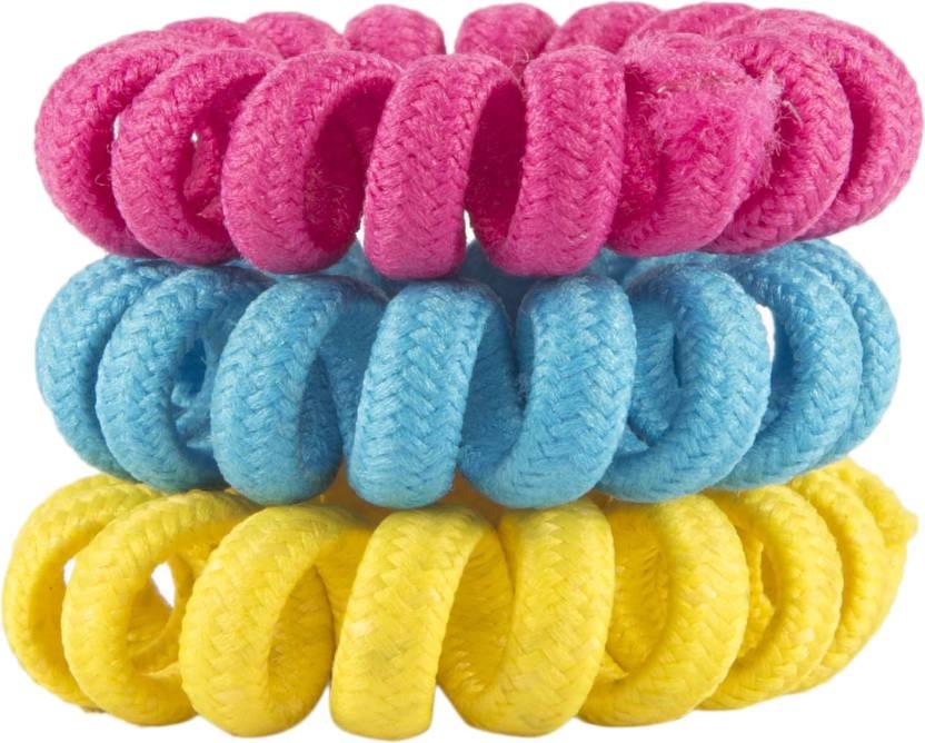 ToniQ Set Of 3 Telephone Wire Hair Band Price in India - Buy ToniQ ...