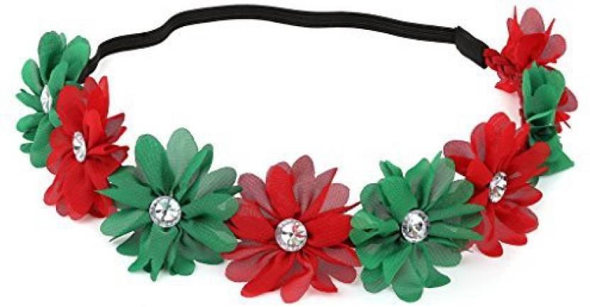 Generic Lux Accessories Xmas Holiday Christmas Headband