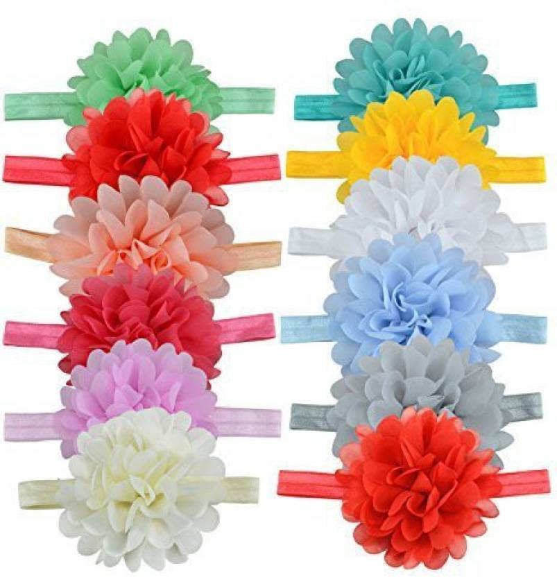 Thaoya fashion baby girls hairpins solid color chiffon lotus flower thaoya fashion baby girls hairpins solid color chiffon lotus flower headwear hair head band accessories mightylinksfo