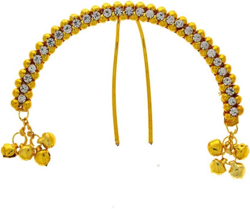 7ddc447d4 Anuradha Art Designer Simple Stylish Hair Pin Price in India - Buy ...