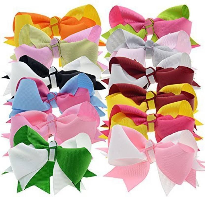 Lclhb Colorful Hair Accessories Handmade Tropical Flower Hair Clips