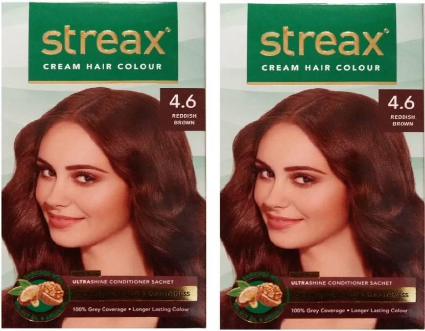 Streax Cream Reddish Brown 46 Pack Of 2 Hair Color Price In