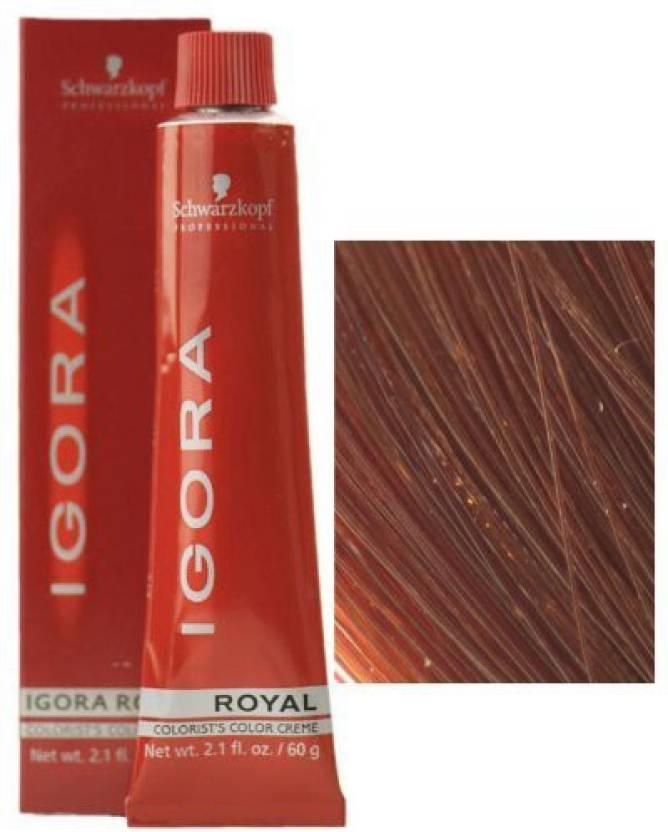 Schwarzkopf Igora Royal Hair Color 6 63 Dark Blonde Chocolate Matt