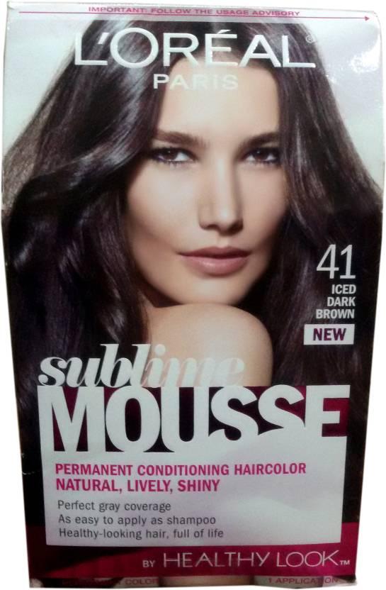 L Oreal Paris Sublime Mousse Permanent Conditioning Hair Color