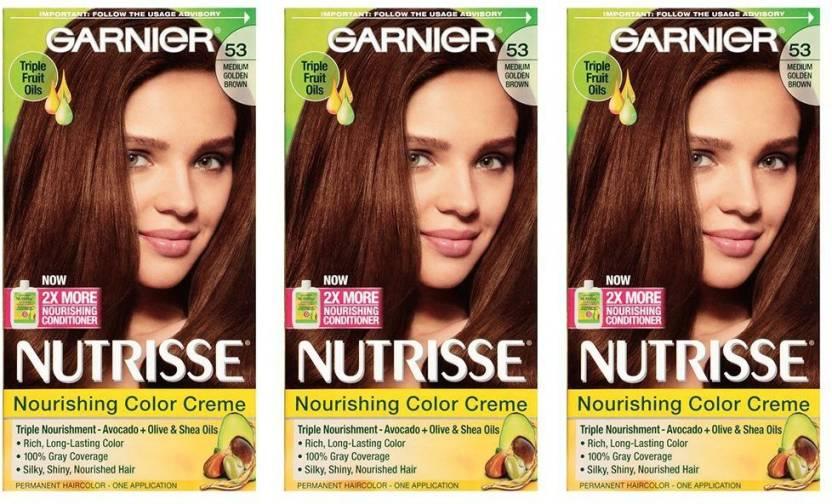 Garnier Nutrisse Nourishing 53 Medium Golden Brown Hair Color
