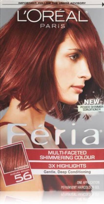 TRESemme Feria Hair Color - 56 Auburn Hair Color