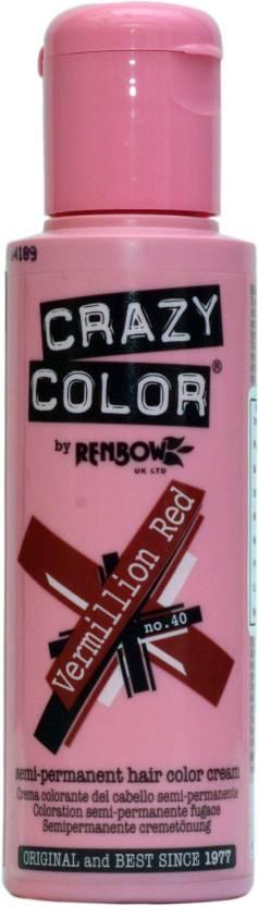 Crazy Color Semi-Permanent  Hair Color