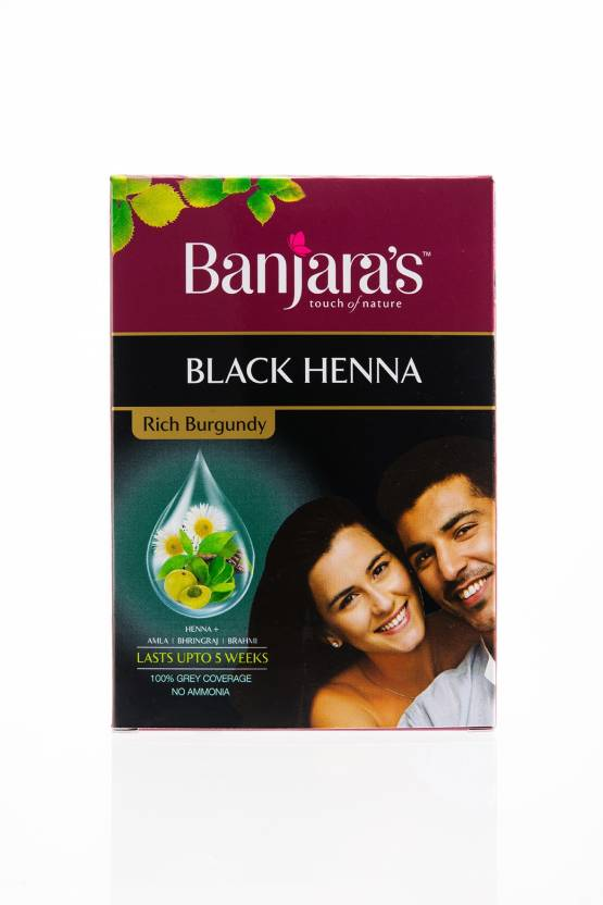98037a8197b9c Banjara's Black Henna Rich Burgundy Hair Color - Price in India, Buy ...