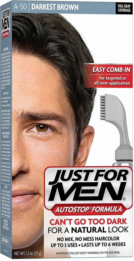 7566109d251 Just For Men AutoStop Men s Darkest Brown Hair Color (Darkest Brown)