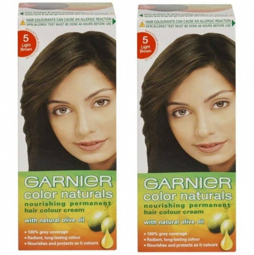 Garnier Color Naturals Light Brown Hair Color  Price In India Buy Garnier C