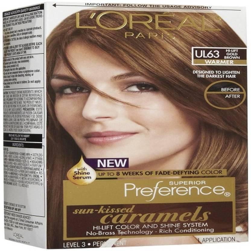 df45e54bb L Oreal Paris Sun-Kissed Caramels Hi-Lift Hair Color (Gold Brown). 4 ☆