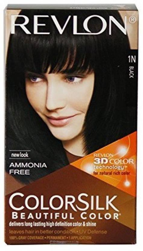 Revlon Colorsilk With 3d Technology Black 1n, Hair Color