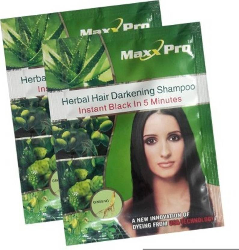 Ruchi World maxxpro shampoo Hair Color